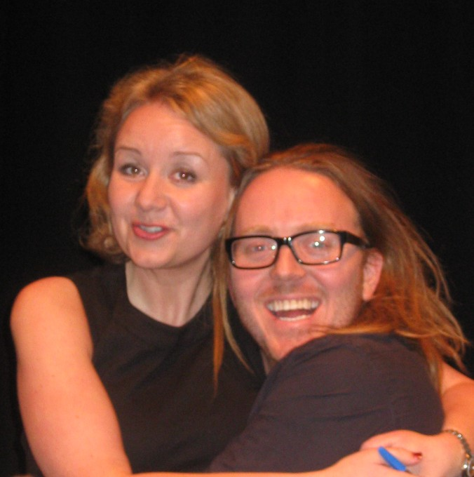Alexandra Feachem and Tim Minchin